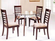 knox glass dining set din