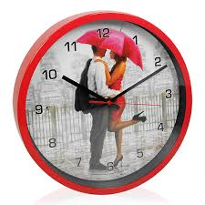 classy together forever wall clock