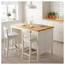 Image Breakfast Bar Ikea Kitchen Island Tornviken Offwhite Oak