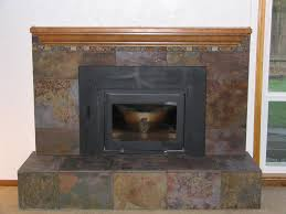 new ideas fireplace slate with tile 17