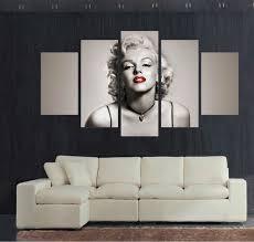 Aliexpresscom  Buy Best Modern Living Room Bedroom Home Decor Marilyn Monroe Living Room Decor
