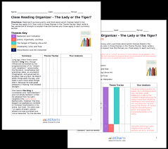 the lady or the tiger summary analysis from the the teacher edition of the litchart on the lady or the tiger
