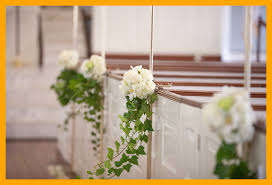 awesome memorable wedding here ideas church pew decorations diy image of concept and style diy church