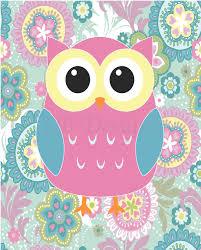 Owl Curtains For Bedroom Girls Owl Nursery Decor Owl Bedroom Decor Pink Owl Print