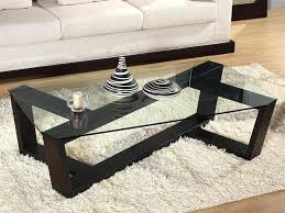 modern sofa table. Modern Sofa Table Hills Coffee Crisscross Framed Glass Top Dimensions