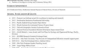 Experienced Latex Resume Template Sample Cv Academic Math – Therunapp