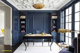 elegant design home office. Modern Ideas For Your Home Fice Navy A Rich Wall Color Can Elegant Design Office I