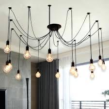 awesome edison chandelier modern retro bulb light