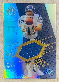 We did not find results for: Philip Rivers 2004 Upper Deck San Diego Chargers Reflections Focus On The Future Rookie Card W Event Worn Material Kbk Sports