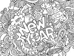 Small Picture New Years 2017 Coloring 1111