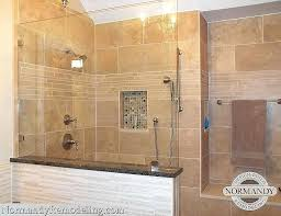 charming shower without curtain or door walk in shower designs without doors pictures created by designer charming shower without curtain or door