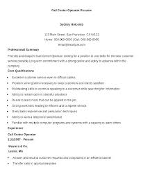 Call Center Resume Examples New Call Centre Resume Sample Call Center Resume Examples Call Center