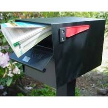 Residential Mailboxes Post Mount GlobalIndustrialcom
