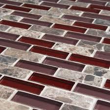 Kitchen Backsplash Red Glass Kitchen Tiles Dark Glass Kitchen Tile Backsplash In Fort