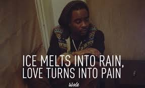 Rap Quotes About Love Delectable Rapper Wale Awesome Sayings Quotes Love Pain Inspirational