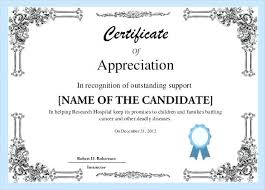 Free Printable Recognition Awards Certificates Of Employee