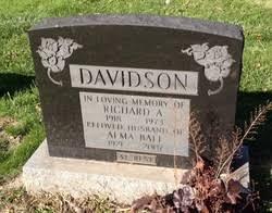 Alma Ball Davidson (1921-2007) - Find A Grave Memorial