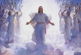 Image result for free picture of coming of Son of Man