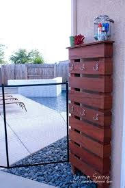 outside towel rack pool towel rack ideas how to suit toy from living savvy outside towel rack