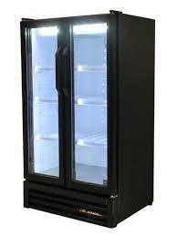 used true 2 door merchandiser cooler gdm 30 ld