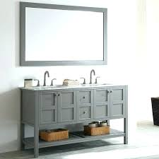 grey vanity table double bathroom set with mirror makeup marble top faux homes bob a gold