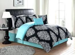 girl quilt set teen comforters beautiful black turquoise teal blue comforter elegant scroll little bedding sets