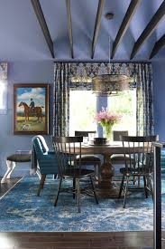 Pretty Periwinkle HGTV Urban Oasis 2015 Blue Dining Room