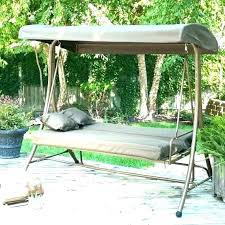 canopy swing replacement cushions garden treasures porch living replacem