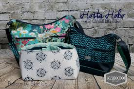 Blue Calla Patterns Magnificent The Hosta Hobo Camera Bag PDF Sewing Pattern Blue Calla Patterns