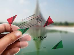 Translucent Plastic Business Cards Free Translucent Business Card Mockup Mockuptree