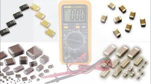 smd capacitor digital multimeter