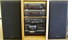 vintage pioneer car speakers. pioneer rack stereo system vintage car speakers
