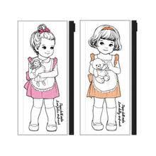 beautiful office supplies. cute sweet pvc pencil box beautiful girl kawaii cartoon bag student gift school supplies for office