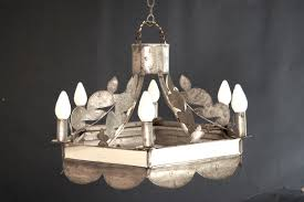 tin lighting fixtures. Revival Period Chandelier Tin Lighting Fixtures O