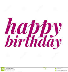 Happy Birthday Slogan For Greeting Card Print Of A Inspirational