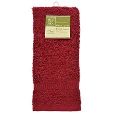 cotton hand towels for bathroom. home collection burgundy cotton hand towels, 16x25 in. towels for bathroom