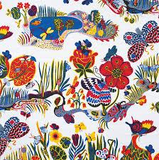 patterns furniture. Josef Frank, Butterfly, 1943-45 - © Svenskt Tenn Patterns Furniture