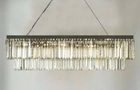 odeon chandelier fringe uk