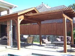 patio cover arbor combination pacific pool dallas ft worth texas