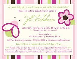 Brilliant Sample Baby Shower Invitations Creative Design