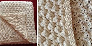 Baby Blanket Pattern Best Deans Knitted Baby Blanket [FREE Knitting Pattern]