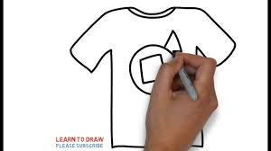 T Shirt Design For Drawing Tshirt Drawing At Getdrawings Com Free For Personal Use