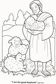 The Lord Is My Shepherd Coloring Page Coloring Pages