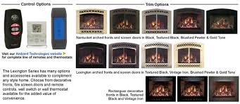 here for majestic lexington gas fireplace specifications