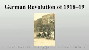 「german revolution of 1918–19」の画像検索結果