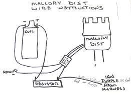 mallory ignition wiring diagram gallery electrical wiring diagram wiring diagram for mallory dual point distributor at Wiring Diagram On A Mallory