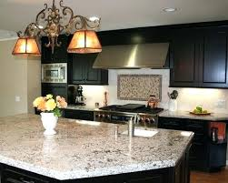 Dark Kitchen Cabinets With Light Granite Cool Light Granite Countertops With Dark Cabinets Granite With Dark