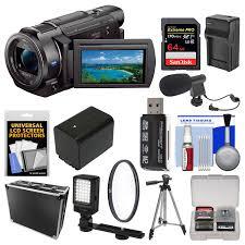 Buy Sony Handycam Fdr Ax33 Wi Fi 4k Ultra Hd Video Camera