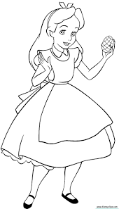 Alice In Wonderland Coloring Pages Google
