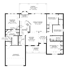 projects design single level house plans 6 one